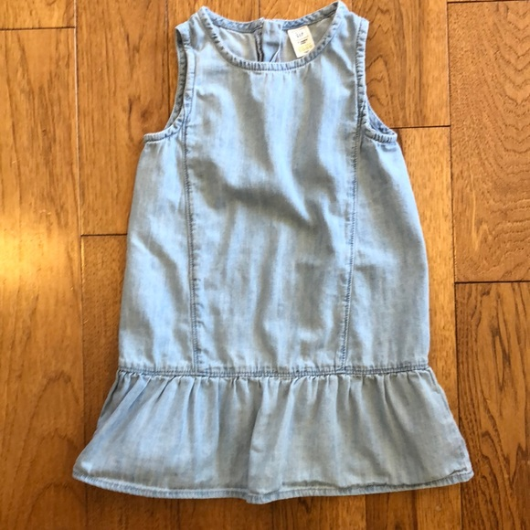 GAP Other - Sleeveless Light Denim Dress